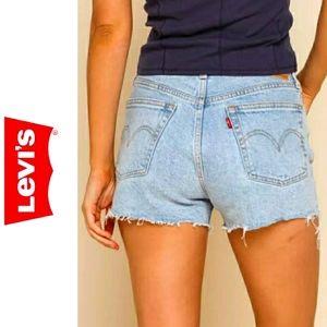 Levi's 550 Vintage Cut Off Jean Shorts Size 16